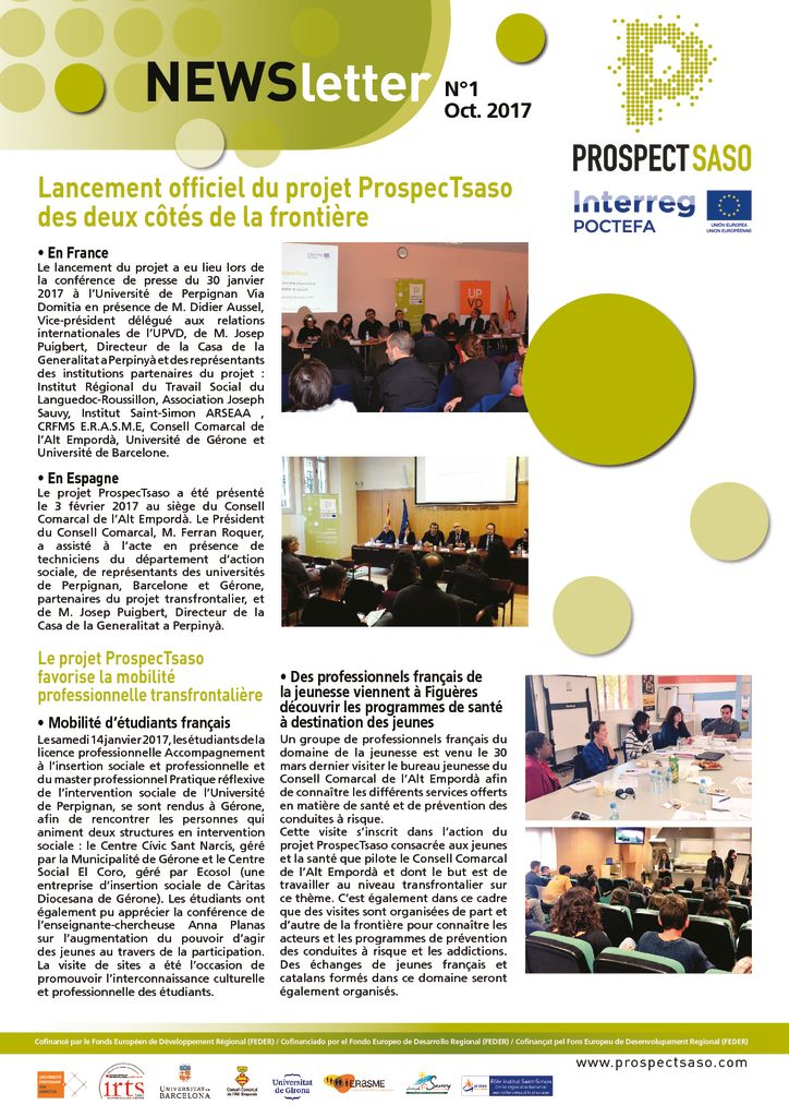 thumbnail of (FR) [ProspecTsaso] Newsletter N°1